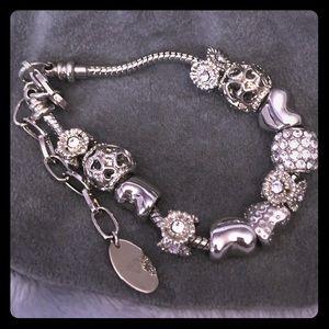 Charm Bracelet w/11 Charms